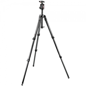 MK057C3-M0Q5 / 맨프로토 삼각대057 Kit Carbon Fiber Tripod with Q5 Ball Head