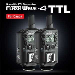 FlashWave-4 TTL Kit [플래시웨이브-4 TTL Kit]캐논용(For Canon)